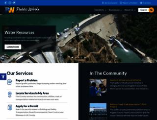 ladpw.org screenshot
