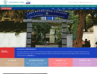 ladybrabourne.com screenshot