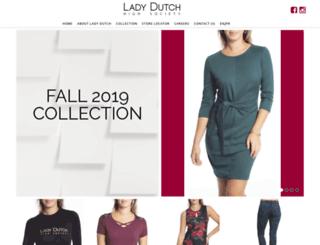 ladydutch.com screenshot