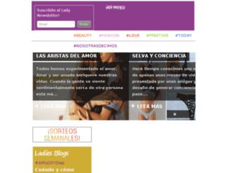ladyfrenesi.com.ar screenshot