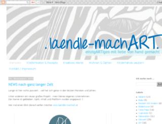 laendle-machart.blogspot.ch screenshot