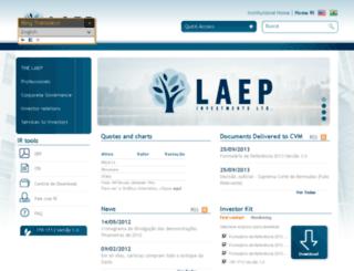 laep.com.br screenshot