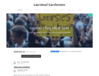 laerskoolgarsies.co.za screenshot