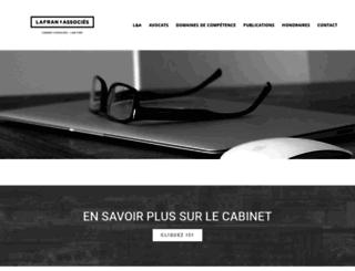 lafran-associes.com screenshot