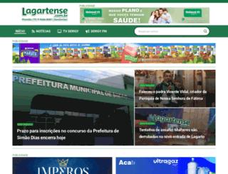 lagartense.com.br screenshot