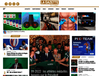 lagazettedufennec.com screenshot