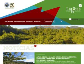 lagoas.cm-pontedelima.pt screenshot