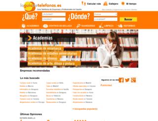 laguiadetelefonos.es screenshot