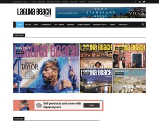 lagunabeachmagazine.com screenshot