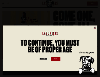lagunitas.com screenshot