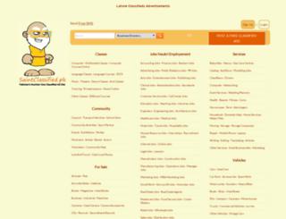 lahore.saintclassified.pk screenshot