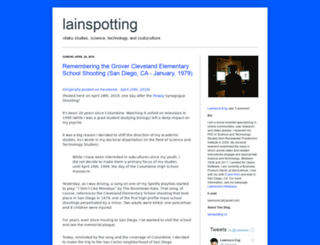 lainspotting.com screenshot