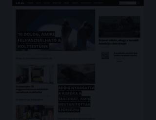 lajk.startlap.hu screenshot
