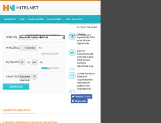 lakashitel.hitel.co.hu screenshot
