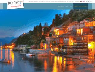 lakecomo.info screenshot