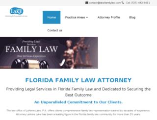 lakefamilylaw.demmigroup.com screenshot