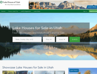 lakehousesofutah.com screenshot