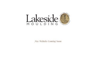 lakesidemoulding.com screenshot
