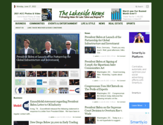 lakesidenews.net screenshot