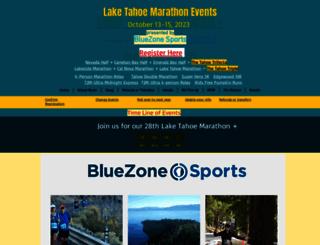 laketahoemarathon.com screenshot