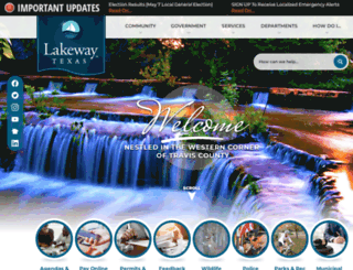 lakeway-tx.gov screenshot