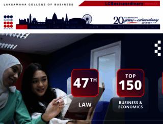 laksamanacollege.edu.bn screenshot