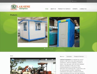 lakshmi-enterprises.com screenshot