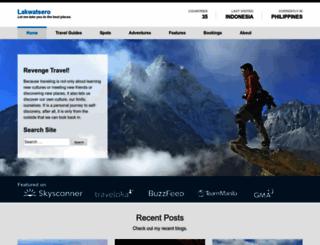 lakwatsero.com screenshot