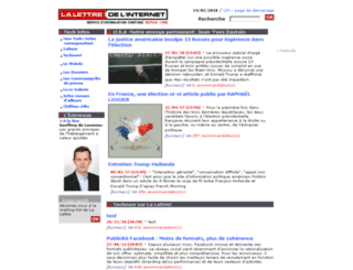 lalettre.com screenshot