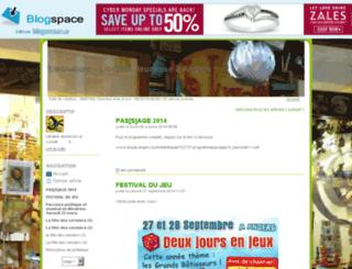 laluciole.blogspace.fr screenshot