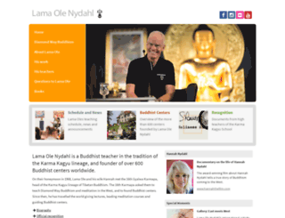 lama-ole-nydahl.org screenshot