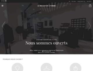 lamaisondelhomme.fr screenshot