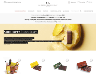 lamaisonduchocolat.us screenshot