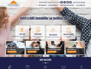 lamaisondupretimmobilier.com screenshot