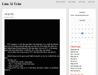 lamaitran.vnweblogs.com screenshot