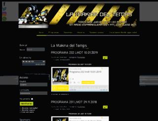 lamakinadeltemps.com screenshot