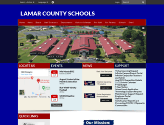 lamar.k12.ga.us screenshot