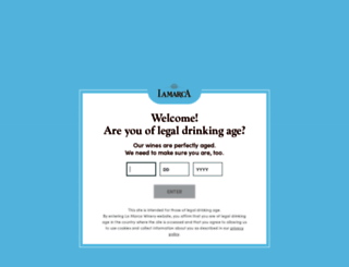 lamarcaprosecco.com screenshot