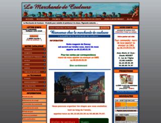 lamarchandecouleurs.com screenshot