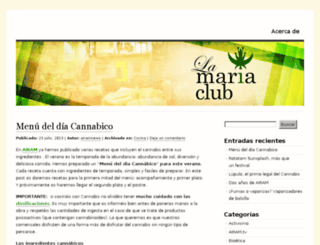 lamariaclub.wordpress.com screenshot