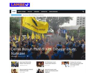 lambenews.com screenshot