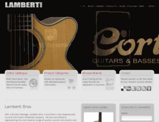 lambertibros.com.au screenshot