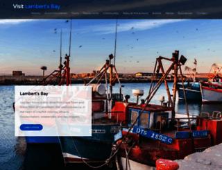 lambertsbay.co.za screenshot