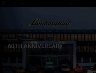 lamborghini-azabu.com screenshot