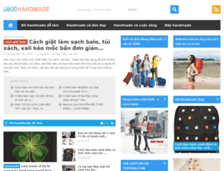 lamdohandmade.com screenshot