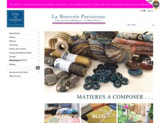 lamercerieparisienne.com screenshot