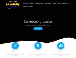 lameteogratuite.com screenshot