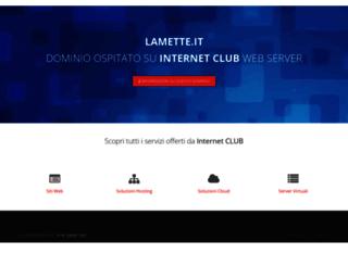 lamette.it screenshot