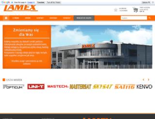 lamex.pl screenshot