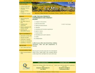 lamiatoscana.info screenshot